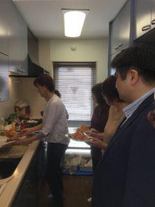 キッチン内の様子